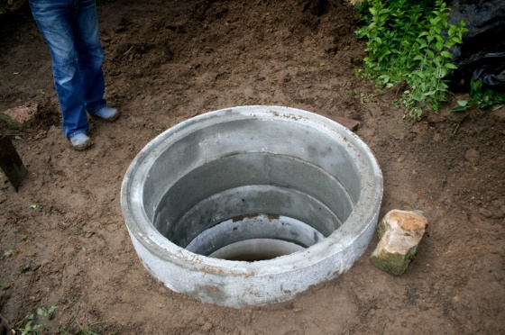 Die erste Stufe des Brunnenbaus ist beendet!