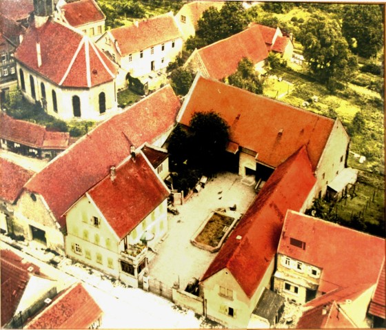 Casa Palatina - Luftaufnahme aus den fünziger Jahren